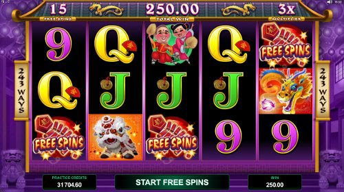 Dragon Dance Slot Free Spins Feature