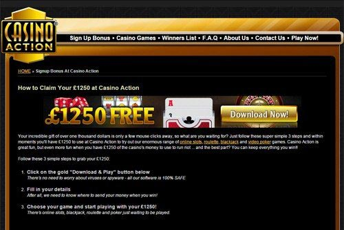 Casino Action Mobile Games