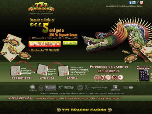 777 Dragon Casino Home