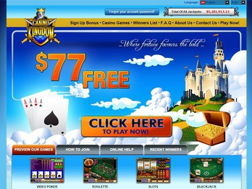 Casino Kingdom Home