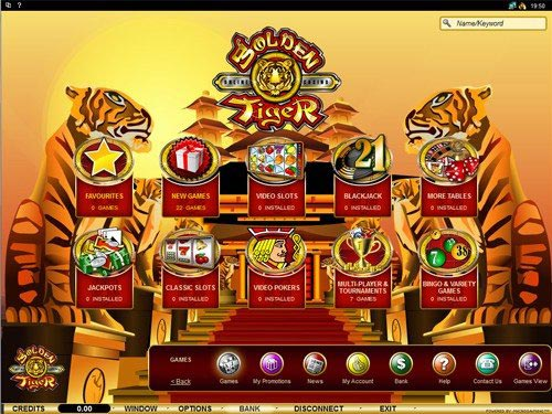 golden tiger casino flash