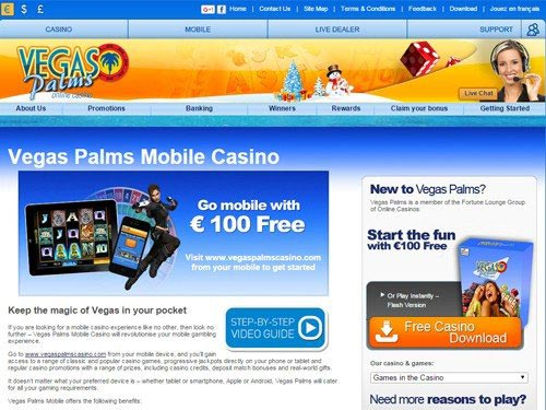 vegas palms mobile