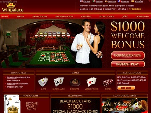 WinPalace Mobile Casino Table Games