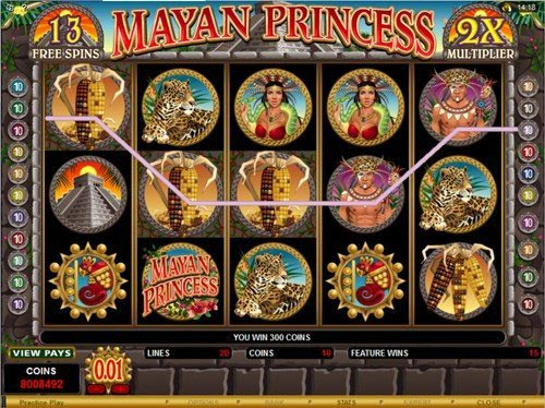 Mayan Princess™ Slot Machine Game to Play Free in Microgamings Online Casinos