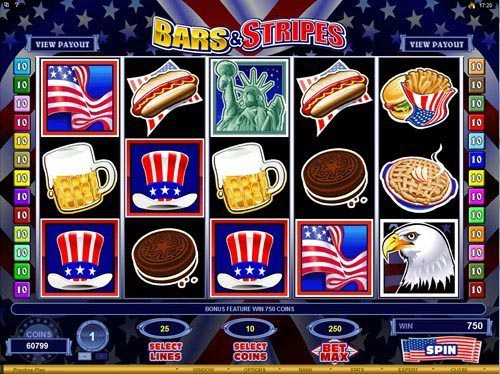 Bars and Stripes Slot Base Game