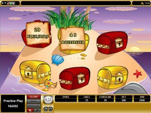 Shiver Me Feathers Slot Bonus Game