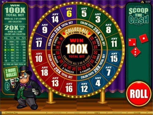 Scoop the Cash Slot Bonus Game
