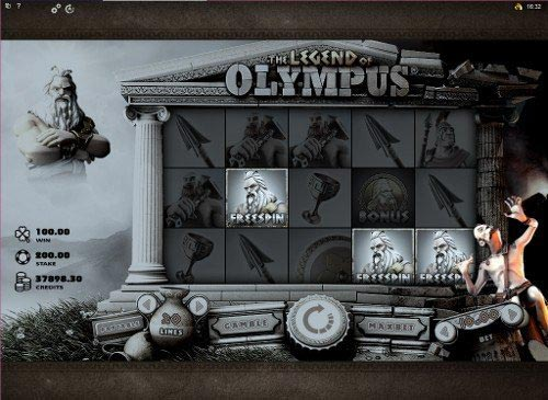 The Legend of Olympus Slot Free Spins