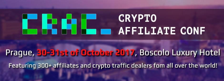 CRAC - Crypto Affiliate Conference 2017