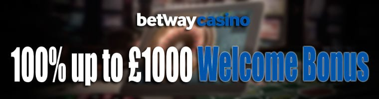 100% up to £1,000 Welcome Bonus