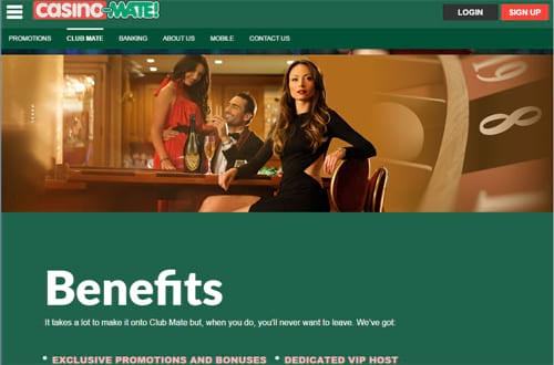 Casino-Mate Benefits