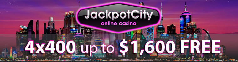 Jackpot City Casino 4x400 Match Offer