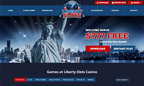 Liberty Slots Casino Home