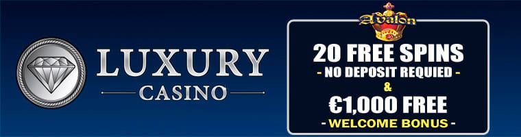 Luxury Casino Exclusive 20 Free Spins No Deposit