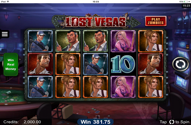 iPad app for energy casino