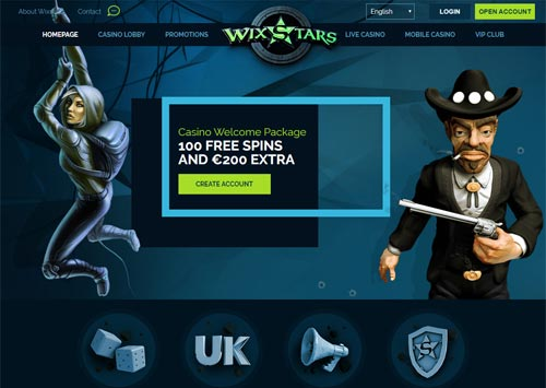 Wixstars Casino Home