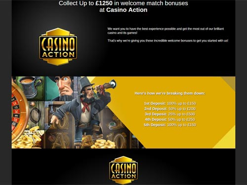 Casino Action Sign Up Offer